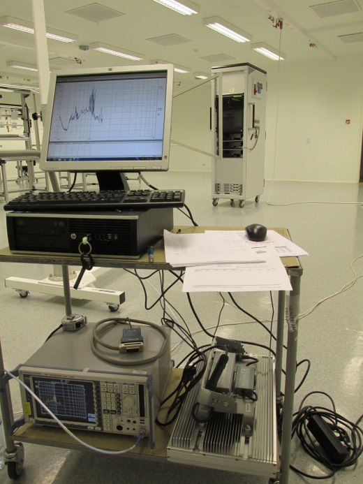 in situ EMC measurements